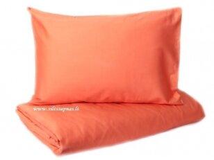 """Siuvama satino patalynė vaikams """"Discovery"""" (orange)"""