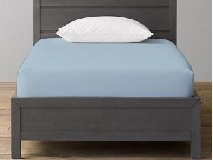 Trikotažinė paklodė su guma Blue