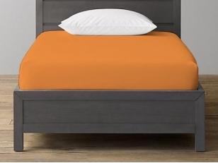 Trikotažinė paklodė su guma Orange