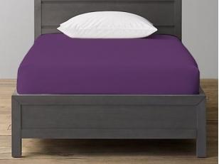 Trikotažinė paklodė su guma Purple