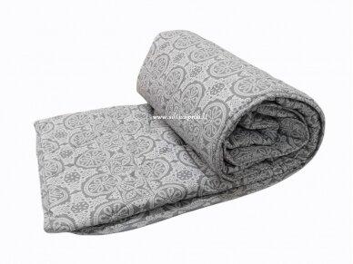Universali medvilninė antklodė su medvilnės užpildu 400g/m2
