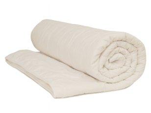 Vaikiška balta universali antialerginė antklodė su poliesterio užpildu 350 g/m2