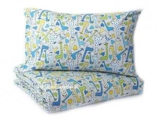 """Vaikiška pagalvėlė su pagalvės užvalkalu """"Žirafiukai""""  (40x40 cm)"""