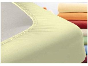 """Vaikiška trikotažinė paklodė """"Night"""" (dramblio kaulo) 60x120 cm"""