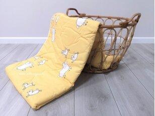Vaikiška universali marga antklodė su medvilnės užpildu 300 g/m2 (100x135 cm)