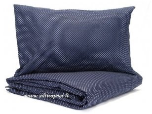 """Vaikiškas medvilninis pagalvės užvalkalas """"Taškeliai"""" (40x60 cm, 50x70 cm)"""