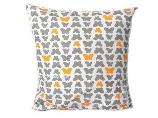 """Vaikiškas  pagalvės užvalkalas """"Drugeliai""""  (45x45 cm)"""
