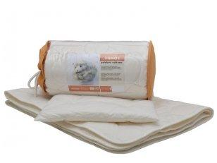 """Vaikiškas skalbiamos vilnos komplektas """"Avytė"""" (antklodėlė, pagalvėlė)"""