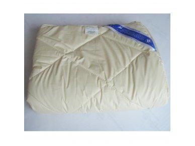 Vaikiška vasarinė antklodė su skalbiamos avių vilnos užpildu 250g/m2 2