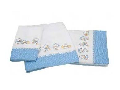"""Vaikiškas rankšluostis """"Ančiukai"""" (mėlynas, 50x100 cm) 2"""