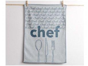 """Virtuvinis rankšluostis """"Chef"""" (šviesus)"""