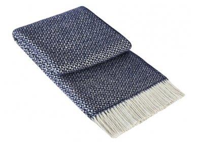 """Vilnos pledas """"Mozaika"""" (blue)"""