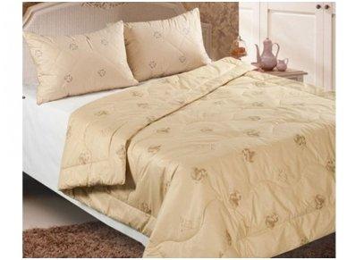 Žieminė antklodė su kupranugarių vilnos užpildu 450 g/m2 2